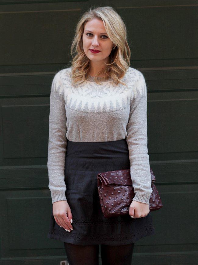 FatFace UK Fair Isle Sweater