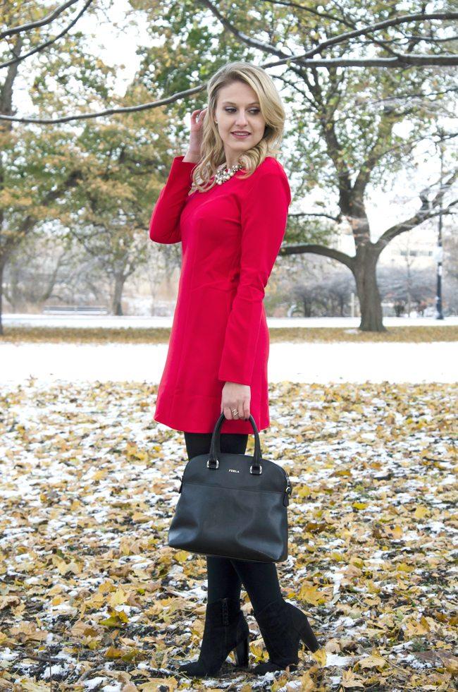 ASOS Red Dress, Red Dress