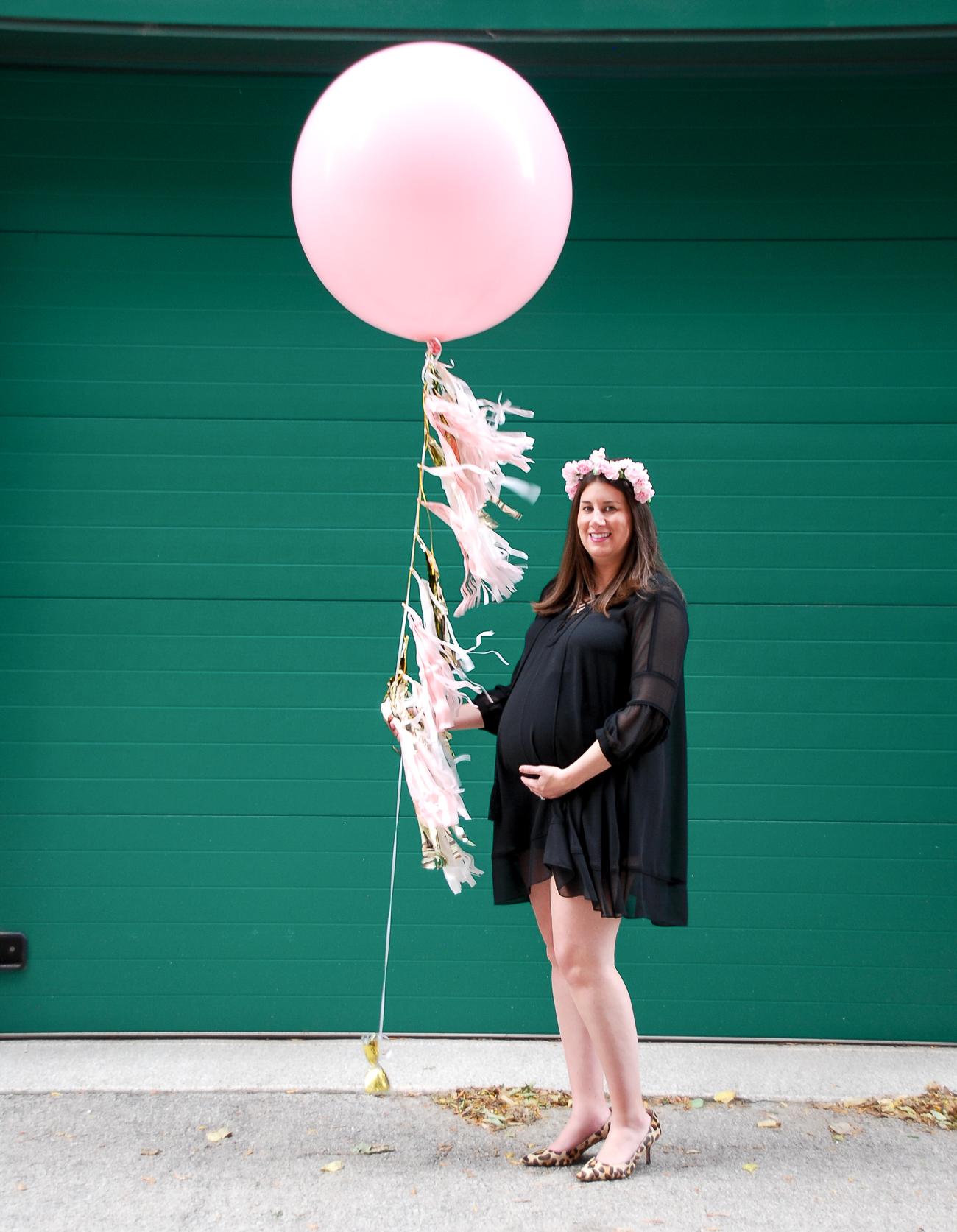 Gold Coast Girl Sam Kramer at her baby shower