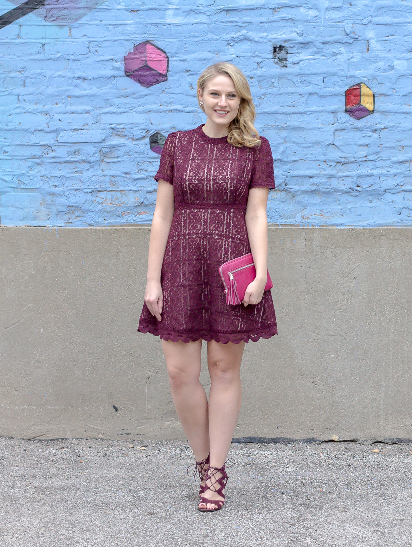A lace dress for your Valentine Day date