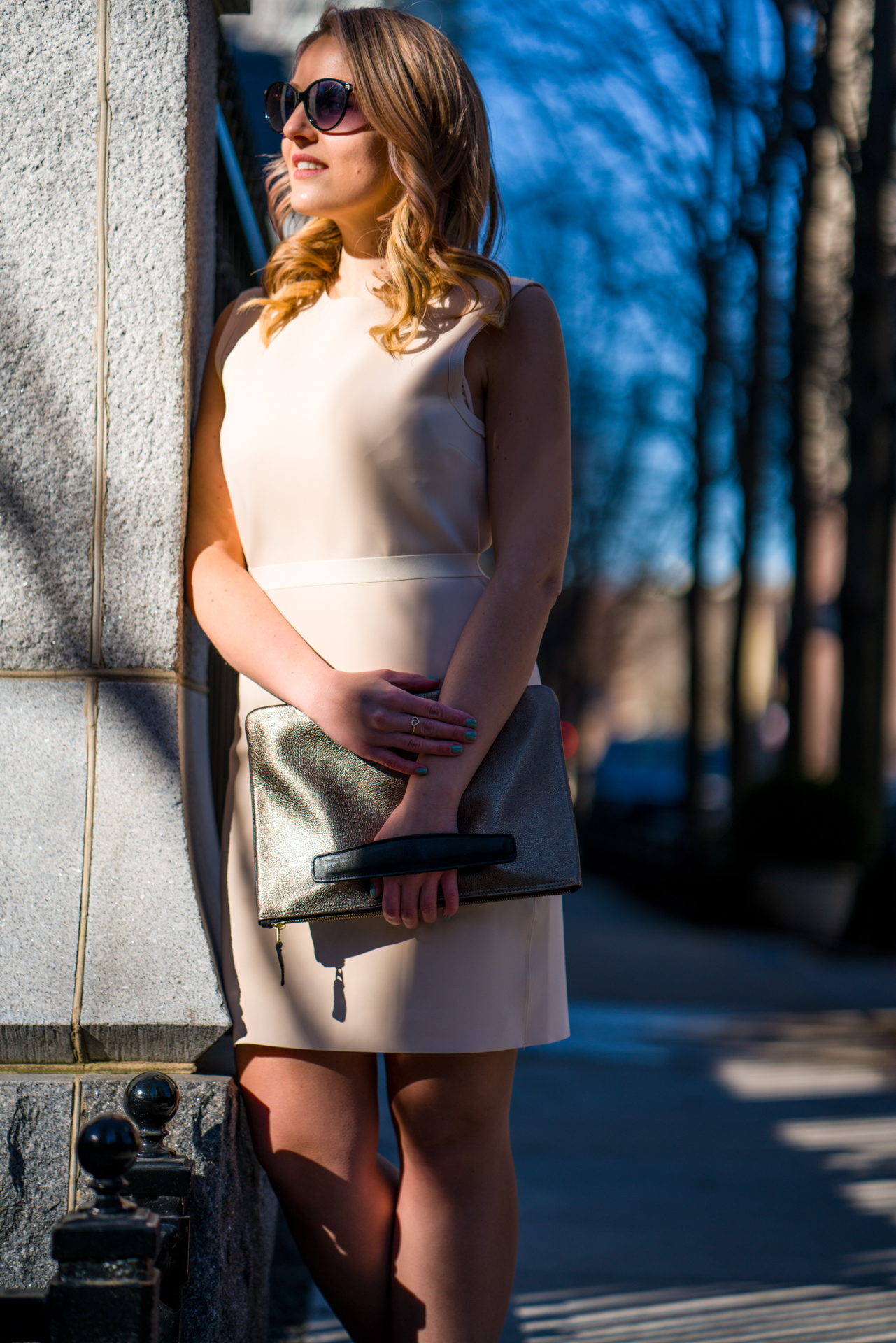 Chicago with the Holly & Tanager Reservable Clutch
