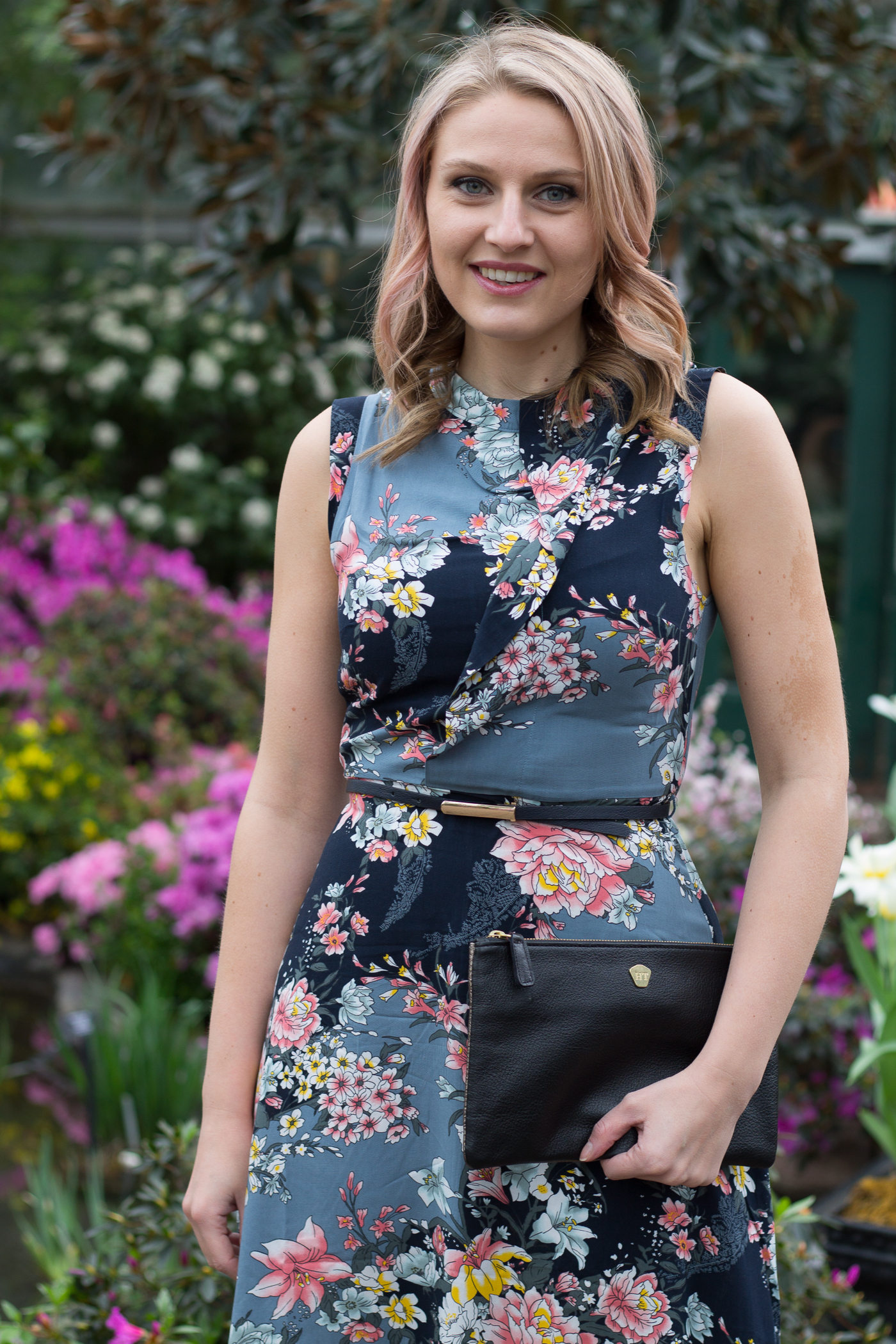 How to wear a floral dress to the office