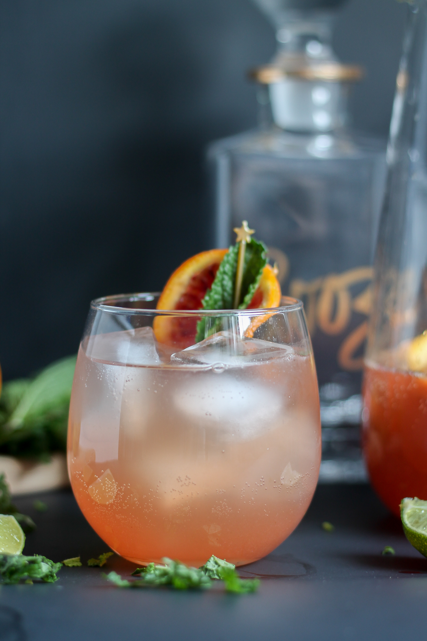 Grilled Citrus Rosé Sangria recipe