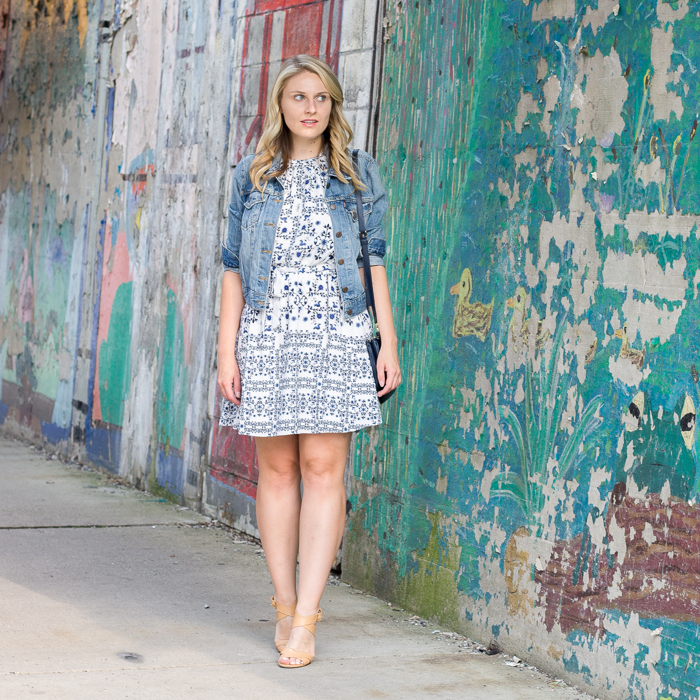 How to wear a summer print dress