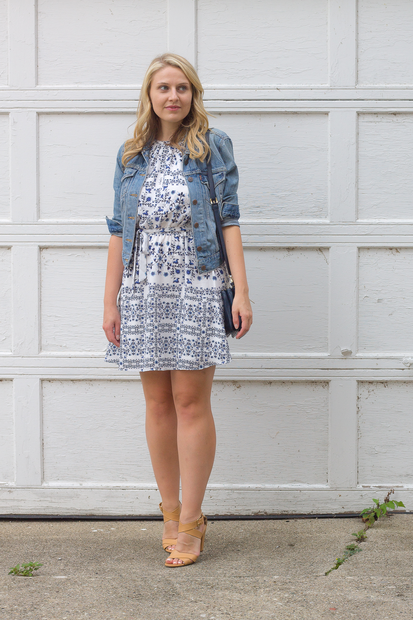 $100 summer print dress from Bloomingdale's