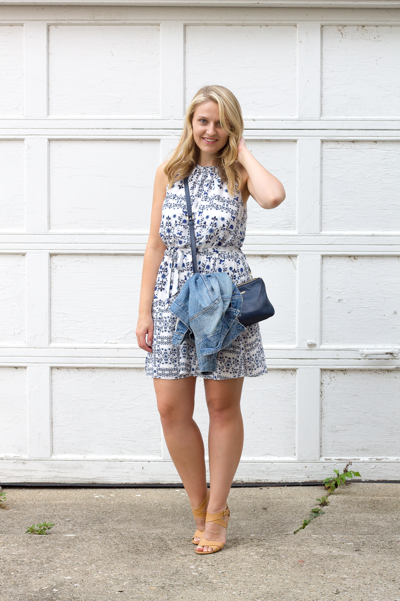 A pretty summer print dress for under $100